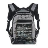 Рюкзак школьный черный Grizzly 27*43*24